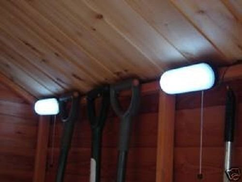 Garden mile® 10 LED Solar Shed Light (2 Pcs)