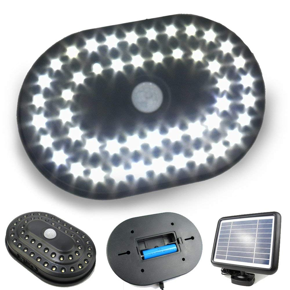 PowerBee ® Solar Shed Light 48 LED