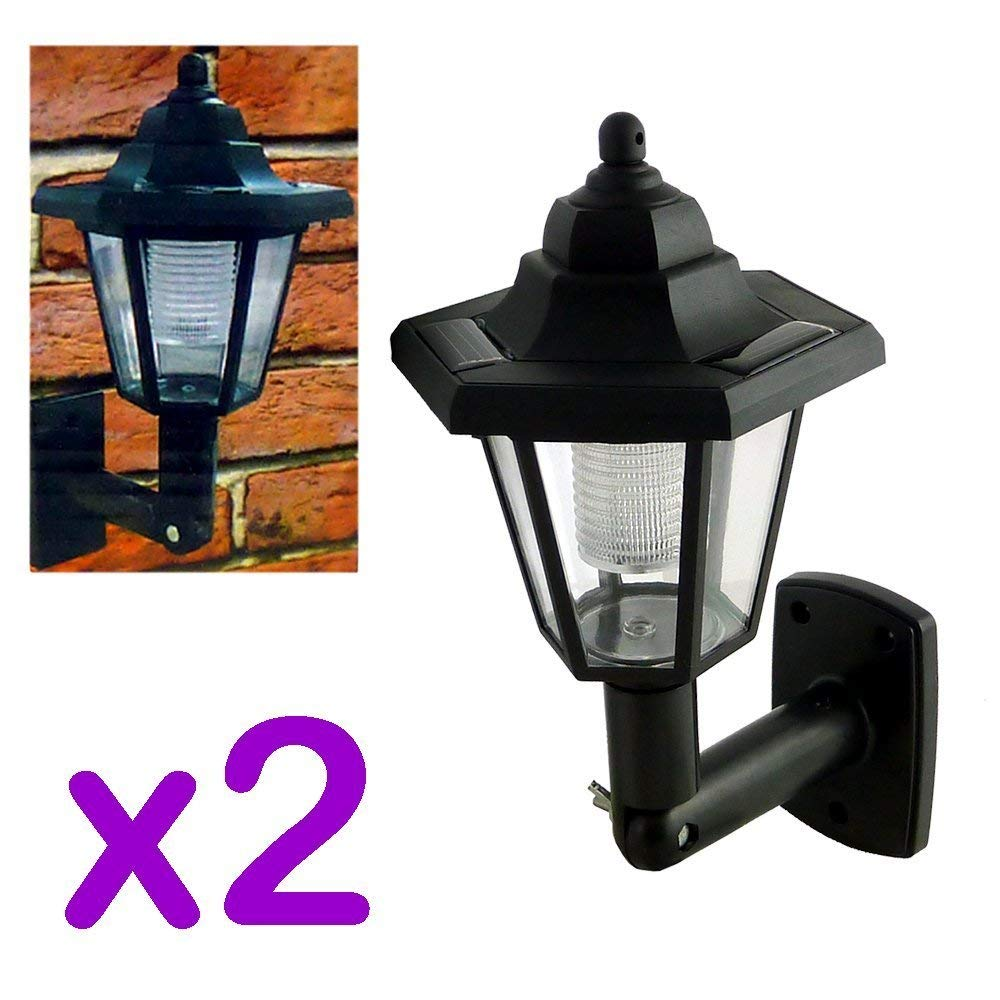 Traditional Solar Wall Lights (2)