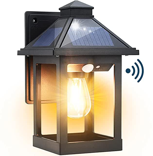 led outdoor wall lights with motion sensor